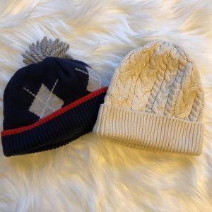 GAP & Gymboree baby boy beanies